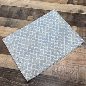 """Moroccan table runner NWT rectangle 60"""" jacquard"""